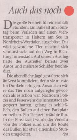 FW 2012.11.13 Ausgebüxter Bulle