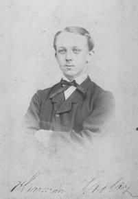 G. Hermann Stoltz als junger Mann