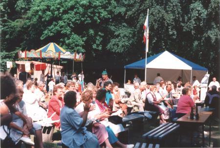 Heimatfest im Gartsbruch am 1. Juli 1995