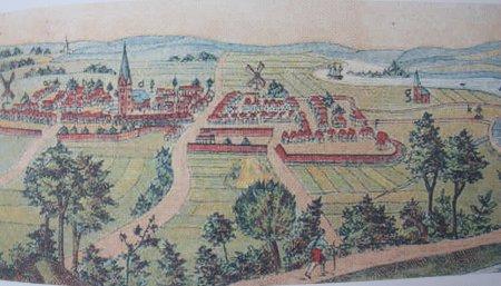 Bild des Hofmalers Wilhlem Dilich aus dem Jahre 1604