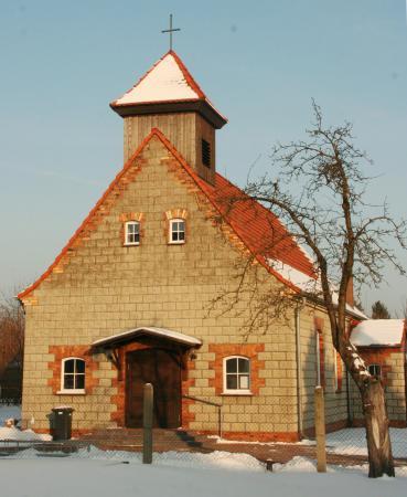 Gemeindehaus Schmogrow, Winter 2013