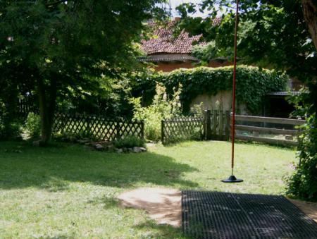 Kletterbogen Garten : Unser garten