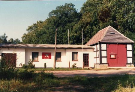 Gerätehaus ab 1972