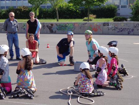 Inline-Skate-Kurs 2