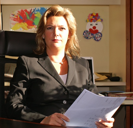 Geschäftsführerin Petra Philipp