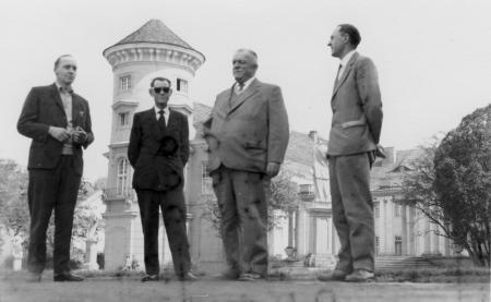 Dr. Rademacher (2. von rechts)