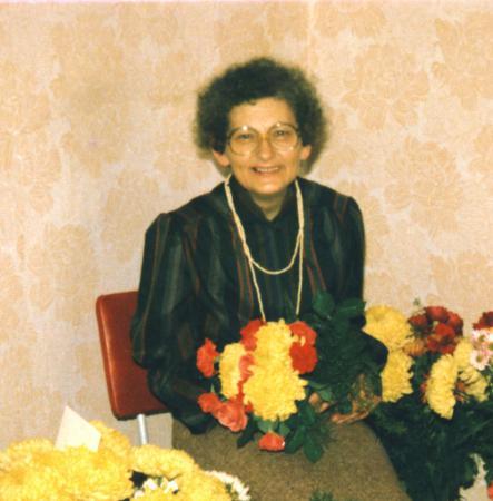 Am 18.11.1986 feierte Frau Gleichmann ihren 60. Geburtstag