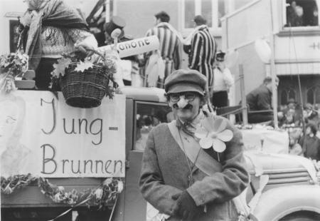 Frau Gleichmann organisierte gerne die Teilnahme des Landambulatoriums am Karneval