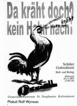 Bußtag 2002 (Plakat)
