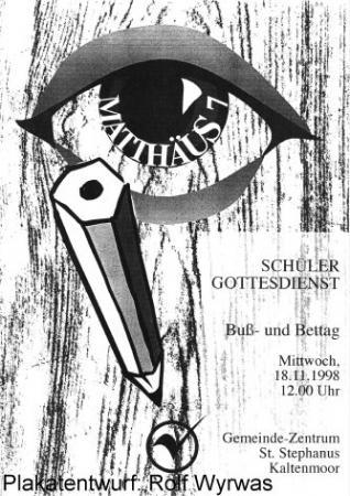 Bußtag 1998 (Plakat)