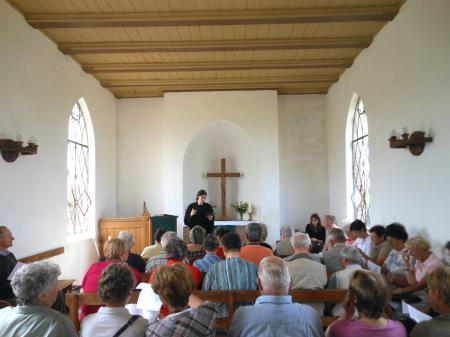 Gottesdienst in der Friedhofskapelle