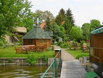 Grillhütte am See