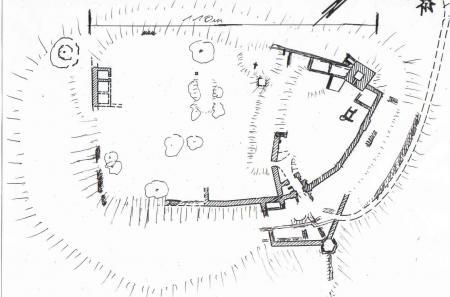 Grundriss der Siersburg