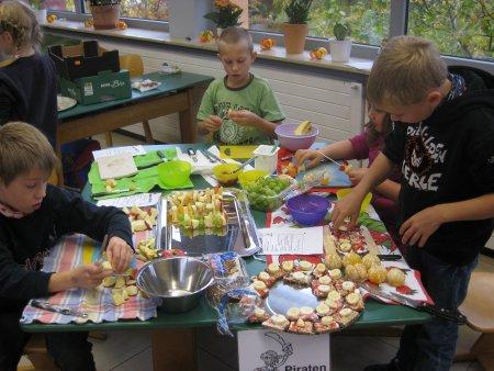 Pausenfrühstück 2011 3a-4a-5
