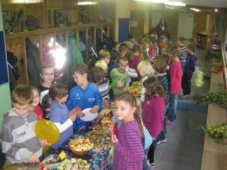 Pausenfrühstück 2011 3a-4a-6