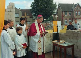 Grundsteinlegung 1993