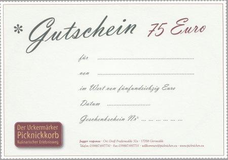Gutschein 75