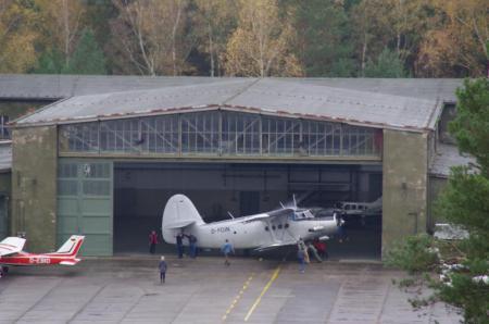 Hangar in EDCD