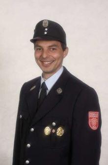 Stadtjugendwart Hans Grill