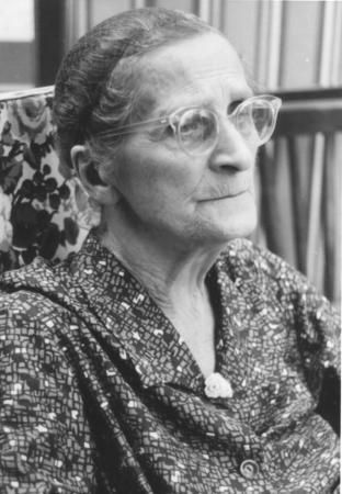 Emma Hilliges, geb. Harm (Foto von 1973)