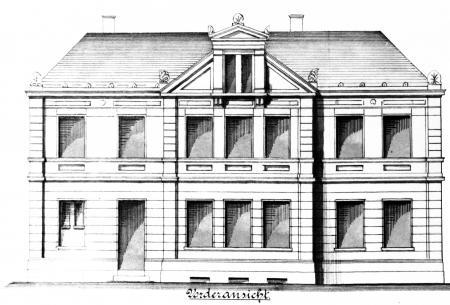 Zeichnung des Maurermeister Harm im Dezember 1897