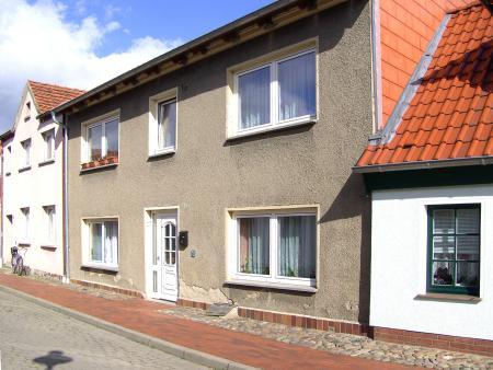 In diesem Haus, Klosterstraße 6, war bis 1850 das St. Georg Hospital untergebracht