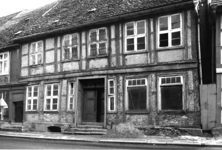 In diesem Haus war von 1812 bis 1860 die Apotheke untergebracht