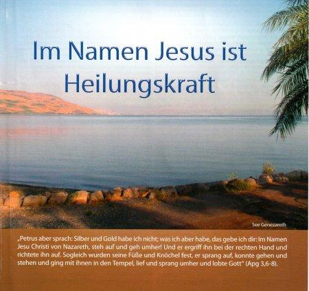 Im Namen Jesu ist Heilungskraft