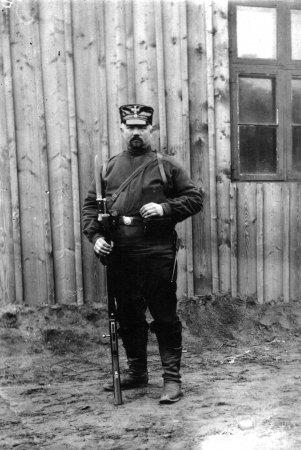 Erbpächter Hermann Hering in Salem (Vater von Hella Fischer)