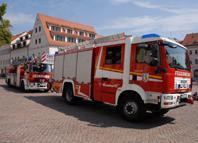 Hilfeleistungslöschfahrzeug Drehleiter Oschatz