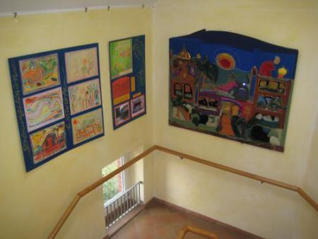 Kunst im Schulhaus