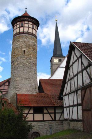 Hutturm uns Kirchturm, Foto: Mario Wimmer