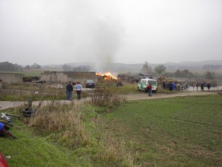 Feuer zwischen Schlakendorf und Karnitz