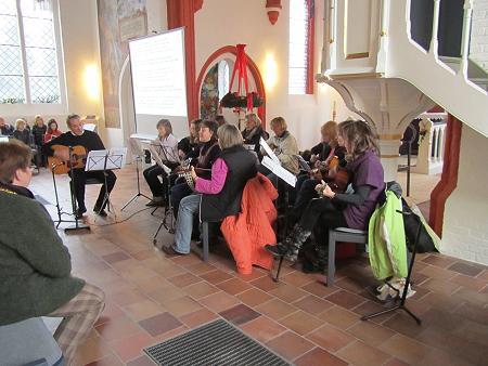 Eröffnung in der Kirche 1