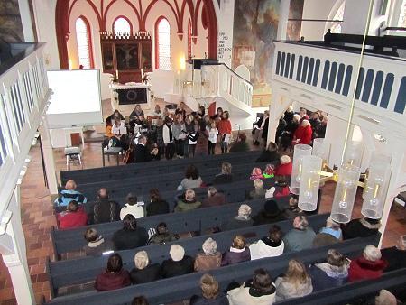 Eröffnung in der Kirche 2