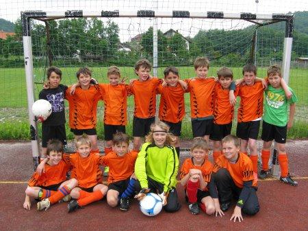 Fußballmannschaft 2012