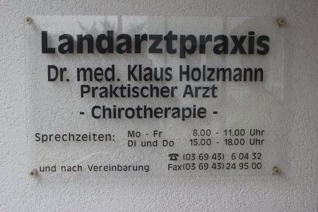 Landarztpraxis Dr. Holzmann