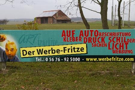 Der Werbe-Fritze