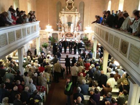 Applaus Orgelweihe