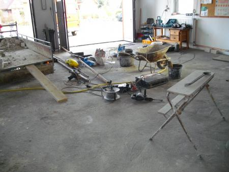 2011 Umbau Wache beginnt