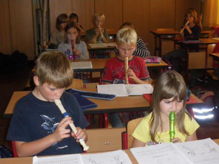 Flötenunterricht 1