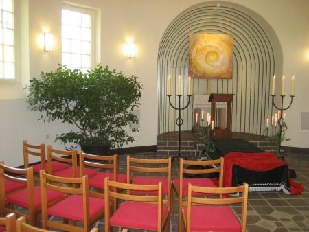 Innenraum Kapelle Ansicht 2009