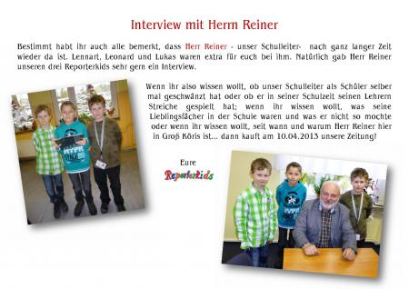 Interview Reiner