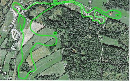 IPC-WC Strecke 3750m