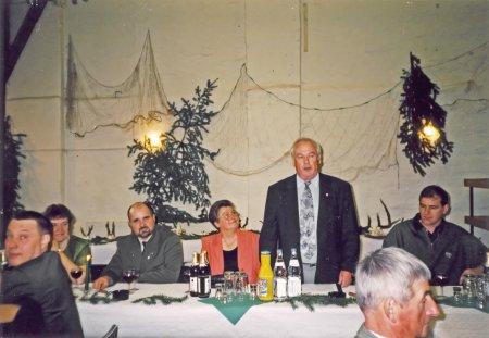 Ansprache des Bürgermeisters Günter Plagens zur Festveranstaltung 100 Jahre Jagd in Neukalen am 26. Februar 2000
