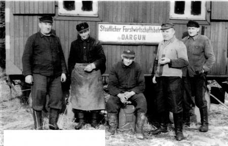Von links nach rechts: J. Hermann, A. Weiß-Negl, W. Möller, Voigt (sen.), B. Splettstößer