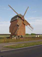 Turmwindmühle in Gentha