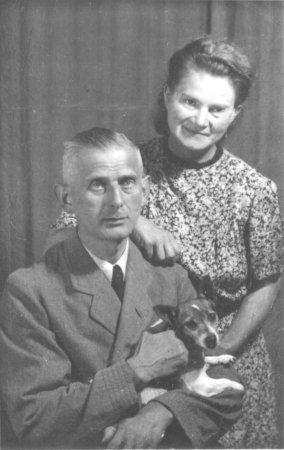Kaufmann Johannes Fischer mit seiner Frau Hella, um 1935