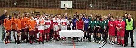 Johanneum gewinnt Schulturnier Mädchen am Ball (1)