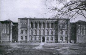 Gebäude des Johanneums  1872-1978